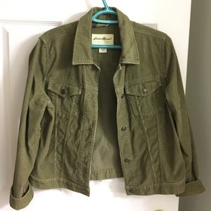 Eddie Bauer corduroy jacket